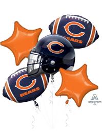 Chicago Bears NFL Team Balloon Bouquet Assortment