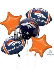 Denver Broncos NFL Team Balloon Bouquet Assortment