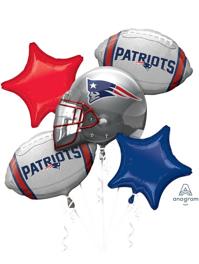 New England Patriots NFL Team Balloon Bouquet Assortment