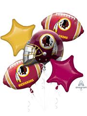 Washington Redskins NFL Team Balloon Bouquet Assortment