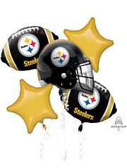 Pittsburgh Steelers NFL Team Balloon Bouquet Assortment