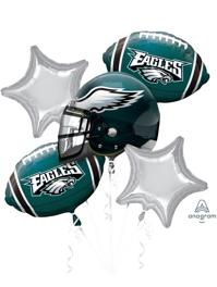 Philadelphia Eagles NFL Team Balloon Bouquet Assortment