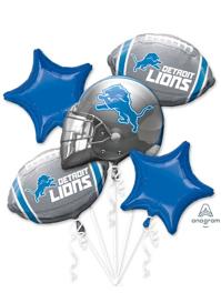 Detroit Lions NFL Team Balloon Bouquet Assortment