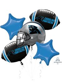Carolina Panthers NFL Team Balloon Bouquet Assortment