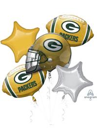 Green Bay Packers NFL Team Balloon Bouquet Assortment
