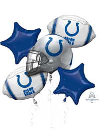 Indianapolis Colts NFL Team Balloon Bouquet Assortment