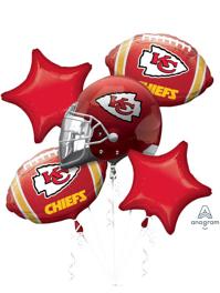 Kansas City Chiefs NFL Team Balloon Bouquet Assortment