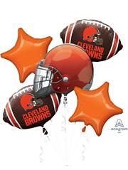 Cleveland Browns NFL Team Balloon Bouquet Assortment