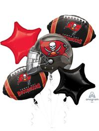 Tampa Bay Buccaneers NFL Team Balloon Bouquet Assortment
