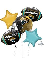 Jacksonville Jaguars NFL Team Balloon Bouquet Assortment