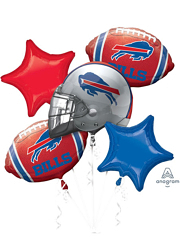 Buffalo Bills NFL Team Balloon Bouquet Assortment
