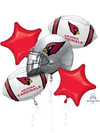 Arizona Cardinals NFL Team Balloon Bouquet Assortment