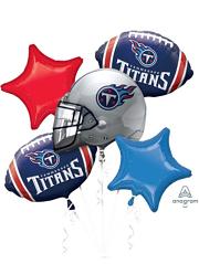 Tennessee Titans NFL Team Balloon Bouquet Assortment