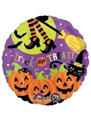 "18"" Witches Brew Halloween Balloon"