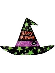 """37"""" Halloween Witch Hat Balloon"""