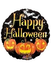 "18"" Happy Pumpkins Halloween Balloon"