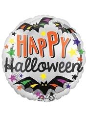 """18"""" Happy Halloween Stars Balloon"""