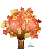 "30"" Fall Tree Autumn Balloon"