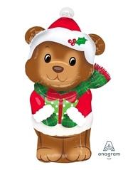 "29"" Christmas Bear Balloon"
