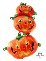 "61"" Stacking Pumpkins Halloween Balloon"