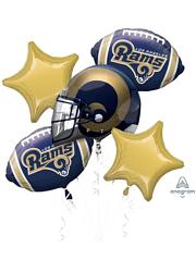 Los Angeles Rams NFL Team Balloon Bouquet Assortment
