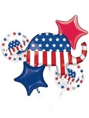 Election Republican Patriotic Balloon Assortment