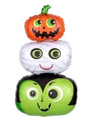 """36"""" Halloween Heads Balloon"""