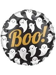 """18"""" Boo Ghosts Halloween Balloon"""