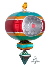 "23"" retro Ornament Christmas Balloon"