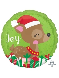 "18"" Cute Deer Christmas Balloon"