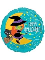 "18"" Halloween Witch Balloon"