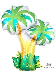 "34"" Tropical Palm Trees Balloon"