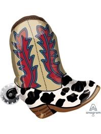"24"" YeeHaw Cowboy Western Balloon"