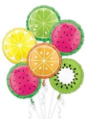 Tropical Fruit Balloon Assortment