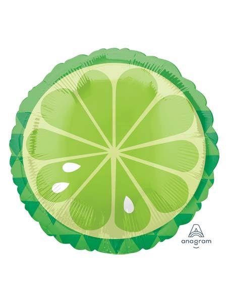 """18"""" Tropical Lime Food Balloon"""