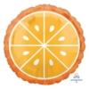 "18"" Tropical Orange Food Balloon"