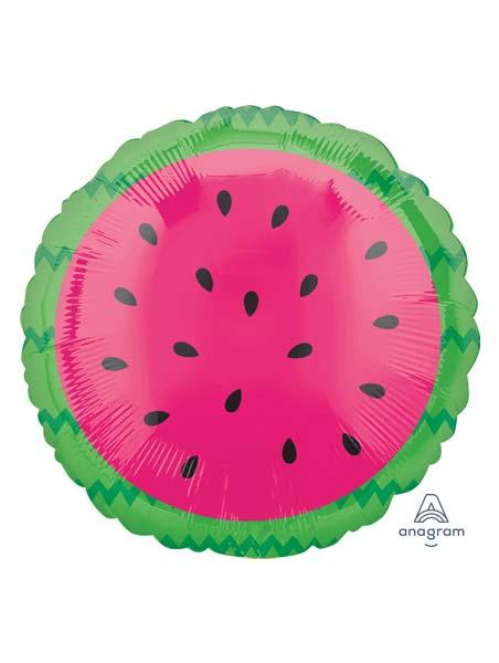 "18"" Tropical Watermelon Food Balloon"