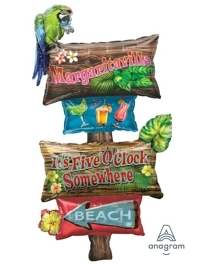 "54"" Luau Party Signs Tropcial Balloon"