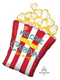 "29"" Carnival Popcorn Circus Balloon"