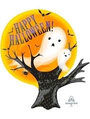 "20"" Spooky Ghosts Shape Halloween Balloon"