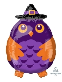 "20"" Witchy Owl Shape Halloween Balloon"