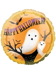 "18"" Spooky Ghosts Halloween Balloon"