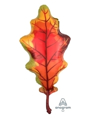 "42"" Fall Oak Leaf Autumn Balloon"