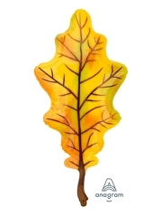 "42"" Fall yellow Leaf Autumn Balloon"