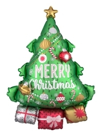 "34"" Christmas Tree Garland Balloon"