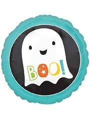 "18"" Boo Ghost Halloween Balloon"