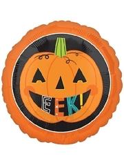 """18"""" Eek Pumpkin Halloween Balloon"""