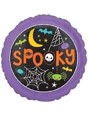 "18"" Spooky Web Spiders Halloween Balloon"