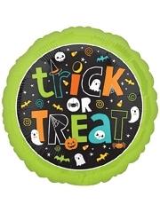 """18"""" Trick or Treat Halloween Balloon"""