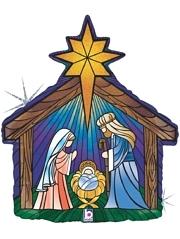 "27"" Nativity Christmas Balloon"